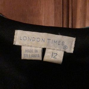 Size 12 London Times knee length dress